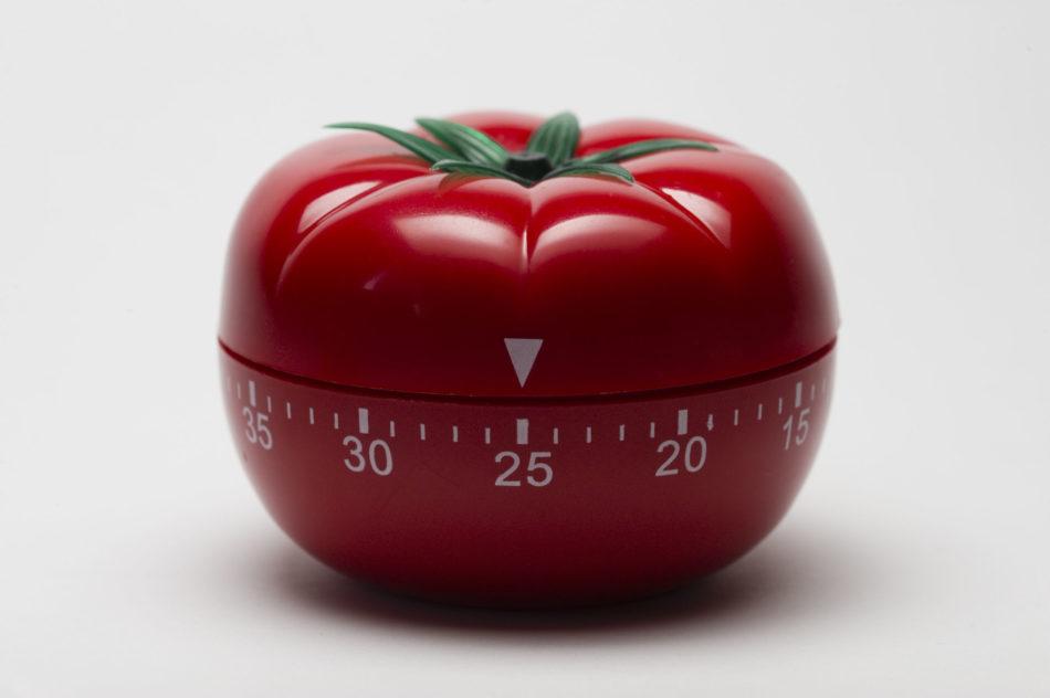 Pomodoro on yksi työnteon tekniikka.